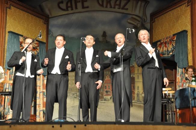 """Cafe Graz"" im großen Kammersaal"