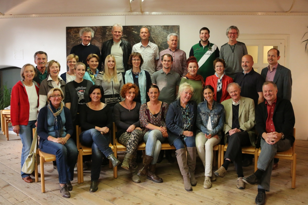 Chor, Solisten mit  Karl Posch - Regie Hans Holzmann - musikalische Leitung